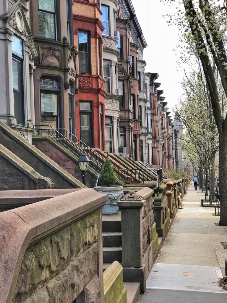 Streets of Park Slope Brooklyn New York City