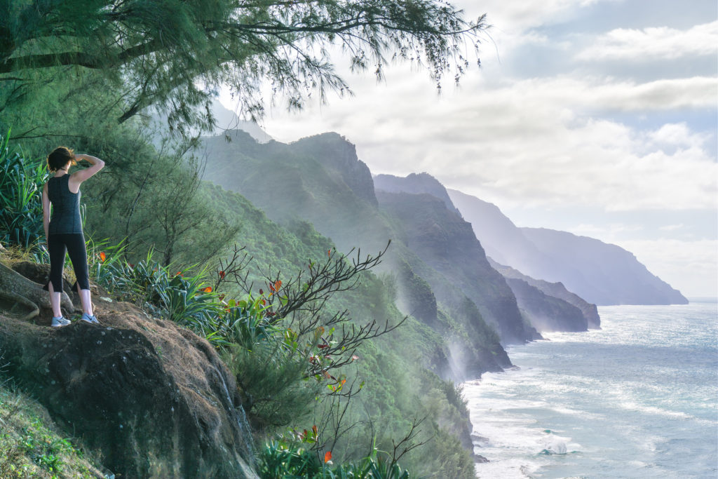 The Kalalau Trail - Nā Pali Coast, Kauai