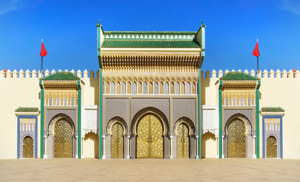 Royal Palace of Fez - Dar el Makhzen - Fes Morocco